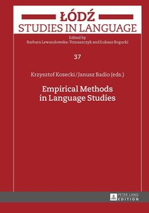 Empirical Methods in Language Studies