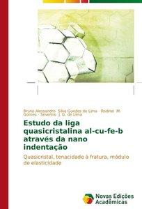 Estudo da liga quasicristalina al-cu-fe-b através da nano indent