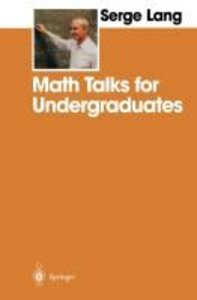 Math Talks for Undergraduates