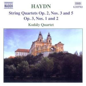 String Quartets,op.2,op.3