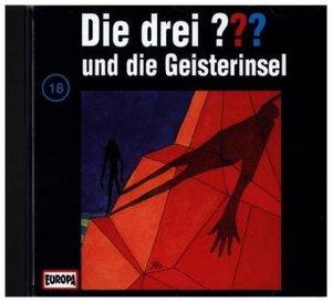 Die drei ??? 018 und die Geisterinsel. (drei Fragezeichen). CD
