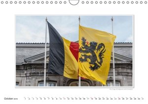 Emotional Moments: Kingdom of Belgium / UK-Version (Wall Calenda