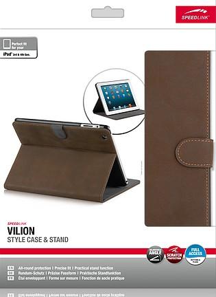 Speedlink SL-7101-BN VILION Style Case & Stand, Tasche mit Stand - zum Schließen ins Bild klicken