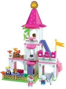 BIG 800057047 - PlayBIG BLOXX: HELLO KITTY PRINCESS SCHLOSS