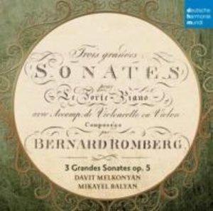 B. Romberg: Sonaten für Hammerklavier und Cello op