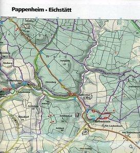 KuF Deutschland Outdoorkarte 38 Altmühltal 1 : 35.000