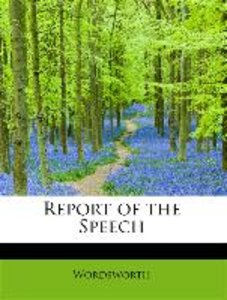 Report of the Speech