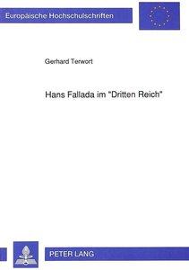 Hans Fallada im «Dritten Reich»