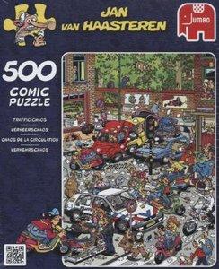 Jan van Haasteren - Verkehrschaos - 500 Teile
