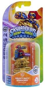 Skylander Swap Force - HEAVY DUTY SPROCKET (Single Charakter) Se