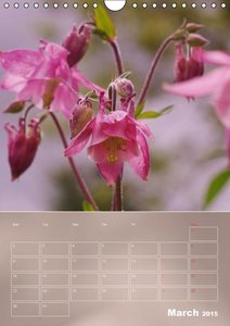 Flower Varieties (Wall Calendar 2015 DIN A4 Portrait)