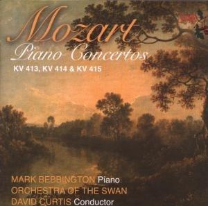 Klavierkonzerte KV 413,KV 414 & KV 415