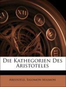 Die Kathegorien Des Aristoteles