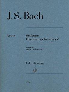 Sinfonien (Dreistimmige Inventionen) für Klavier zu zwei Händen