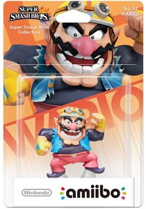 amiibo Super Smash Bros. Collection - No. 32 WARIO
