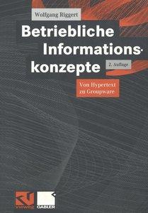 Betriebliche Informationskonzepte