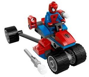 LEGO® Marvel Super Heroes 76014 - Spider Trike versus Electro