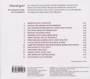 Choral:Gut!-Die Schönsten Lieder Aus Dem Gesangbuc
