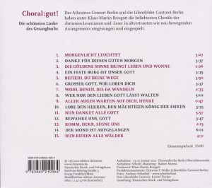 Choral:Gut!-Die Schönsten Lieder Aus Dem Gesangbuc - zum Schließen ins Bild klicken