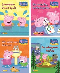 Nelson Mini-Bücher: 4er Peppa 1-4
