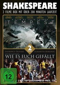 Shakespeare-Box (The Tempest/Wie Es Euch Gefällt)