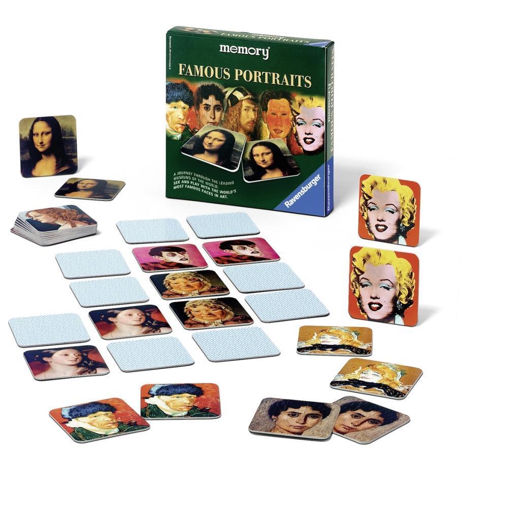Famous Portraits memory® Famous Portraits - zum Schließen ins Bild klicken
