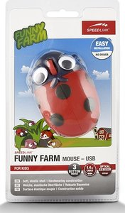 Speedlink SL-6135-LYB FUNNY FARM Mouse USB, FOR KIDS, 3-Tasten-M