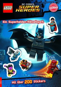 LEGO® DC Comics(TM) Superhelden. Ein Superhelden-Rätselspaß - Mi