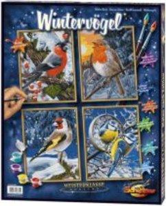 Schipper Malen nach Zahlen: Wintervögel (Quattro)