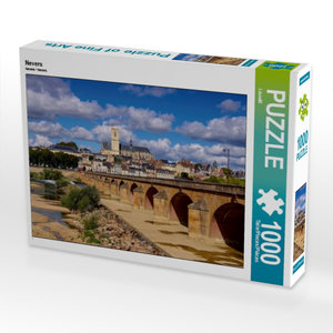 Nevers 1000 Teile Puzzle quer