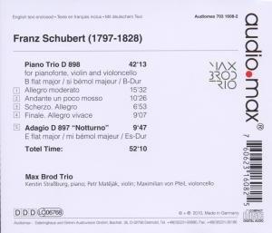 Klaviertrio D 898/Adagio D 897 Notturno