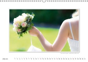 Emotional Moments: A Wedding Year. / UK-Version (Wall Calendar 2