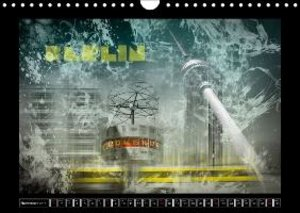 Digital-Art URBAN VIEWS / UK - Version (Wall Calendar 2015 DIN A