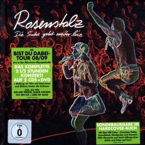 Die Suche Geht Weiter-Live (Ltd.Super Deluxe Buch)