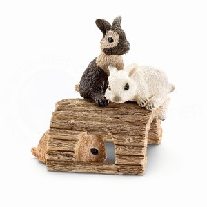 Schleich 13748 - Kaninchenjungen spielend