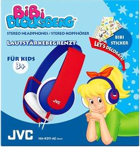 JVC HA-KD5-AE - Kindgerechter Stereokopfhörer Bibi Blocksberg Ed