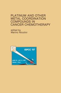 Platinum and Other Metal Coordination Compounds in Cancer Chemot