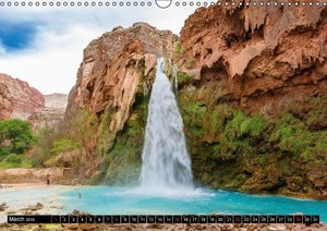 Havasupai Falls (Wall Calendar 2015 DIN A3 Landscape)