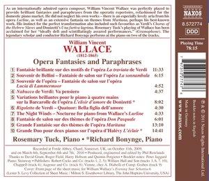 Opernfantasien Und-Paraphrasen
