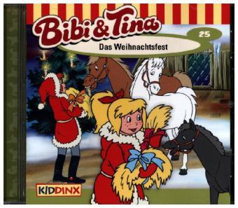 Bibi und Tina 25. Das Weihnachtsfest. CD - zum Schließen ins Bild klicken