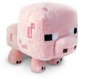 Minecraft 16526 - Stofftier Baby Schwein, 18 cm