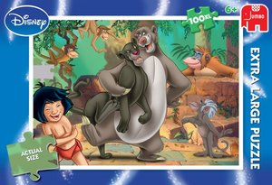 Disney 19330 - Jungle Book Puzzle 100 Teile, XL