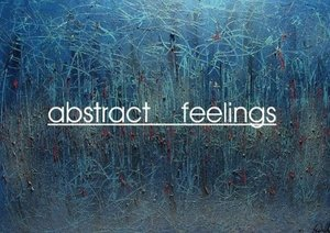 abstract feelings (Poster Book DIN A3 Landscape)