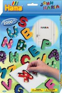 Hama 3424 - Geschenkpackung Buchstaben, gr. Stiftplatte mit ca.