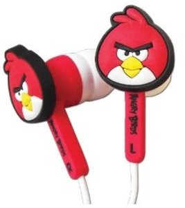 In-Ear Kopfhörer Headphone Ear Buds für Nintendo 3DS Angry Birds