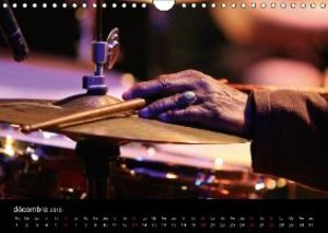 Jazz drums (Calendrier mural 2015 DIN A4 horizontal)