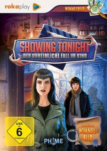 Showing Tonight: Der unheimliche Fall im Kino (Wimmelbild)