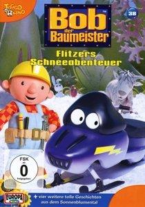 Bob, der Baumeister 38. Flitzers Schneeabenteuer