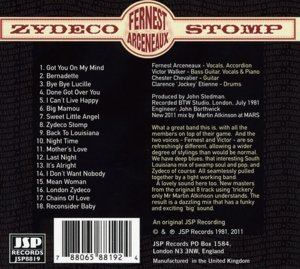 Zydeco Stomp-Fernest Arceneaux