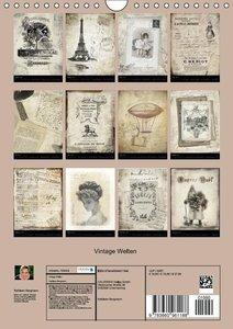 Bergmann, K: Vintage Welten (Wandkalender 2015 DIN A4 hoch)